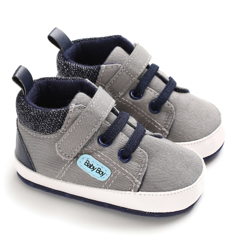 Cute Baby Shoes Spring Autumn Warm Soft Sole Baby Retro Canvas Shoes Cotton Infant Baby Boys Girls Soft Boots 6-12M
