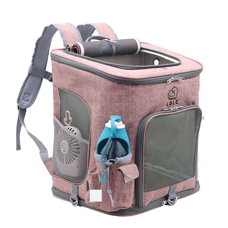 Foldable Dog Bag Pet Cat Carrier Backpack Outdoor Travel Portable Breathable Small Dog Puppy Kitten Carry Shoulder Bag Hot Sale in Dog Carriers from Home Garden