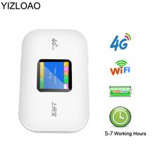 YIZLOAO odblokować 4G Router Wi-fi Mini 3G 4G Lte bezprzewodowy przenośny a kieszonkowe Wifi mobilny punkt aktywny samochód Router Wifi z Sim Mifi tanie tanio CN (pochodzenie) wireless 150 mbps 1x10 100 Mbps 1 x USB 2 4g Brak Wi-fi 802 11g 802 11n Firewall Mini wifi