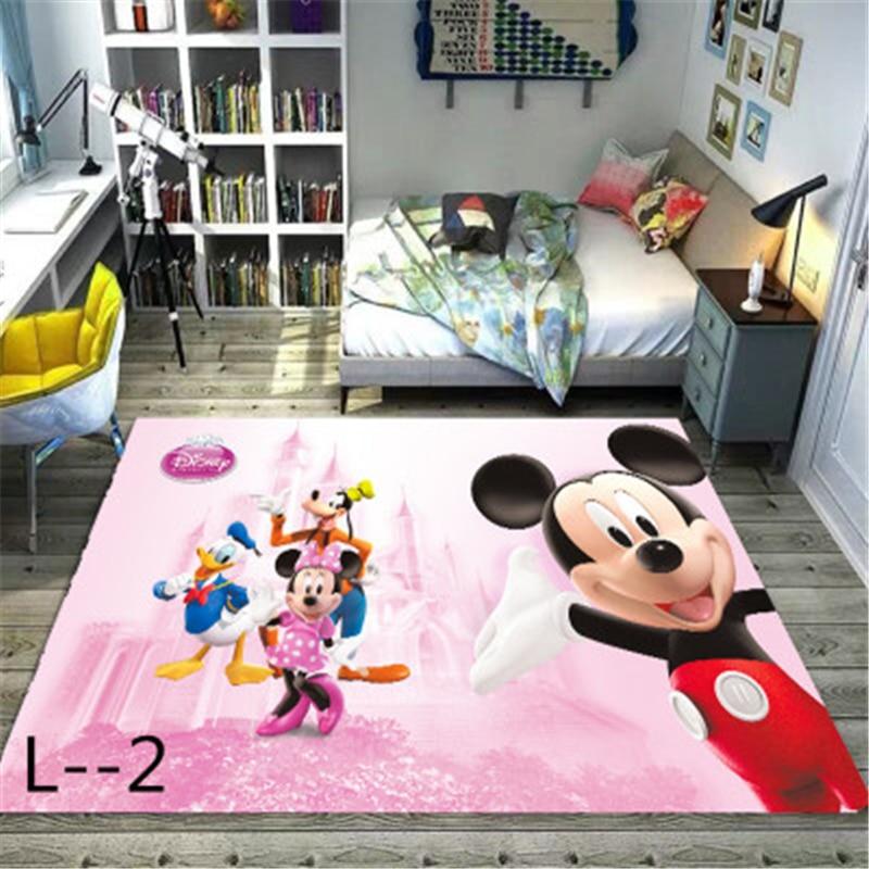 Mickey And Minnie Mouse  Door Mat Kids Boys Girls Game Mat Carpet  Bedroom Kitchen Carpet Indoor Bathroom Mat Kids Rug  Playmat