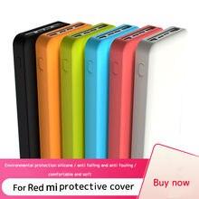Protetor de silicone caso capa para vermelho mi power bank 20000 mah powerbank caso duplo usb 10000 mah pele capa de manga escudo