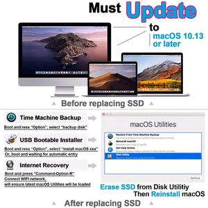 Image 5 - 128GB 256GB 512GB 1TB SSD For 2013 2014 2015 2017 Macbook Air A1465 A1466  For Macbook Pro Retina A1398 A1502  Solid State Drive