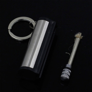 Instant Free Fire Metal Retro Match Lighter Flint Fire Starter Kerosene Creative Portable Outdoor Survival Safety Tools Camping image