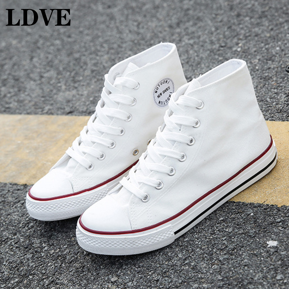 Original vulcanized shoes high top Classic Light-Weight Low-Top Women trainer Shoes Canvas Sneakers Flats