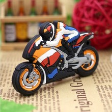 цены Mini Motorbike Pen Drive Cartoon Motorcycle Usb Flash Drive 256GB Flash Memory 4G 8G 16G 32G Pendrive 64G 128G Flash Memory Card