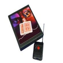 Cubierta de mano Invisible (versión de control remoto), trucos de magia de cartas, iluminiación, mentalismo, accesorios, trucos de magia, Juguetes