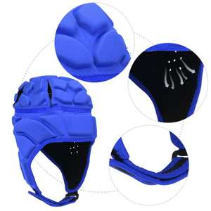 Professional Men Women Football Soccer Goalkeeper Helmet Sports Rugby Cap Safe