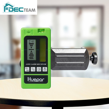 DEC TEAM Laser Receiver Detector Ourdoor Indoor Electronic Available For Cross Line Pulsing Red Green Beams LR-5RG