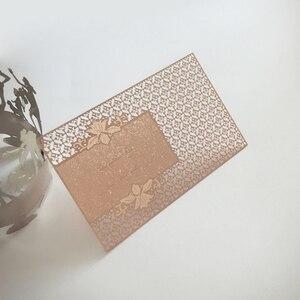 Image 5 - 스테인레스 금속 카드 인쇄 사용자 정의 200 개/몫 구멍 펀치 레이저 컷 회원 카드 무료 배송