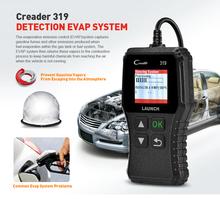 Yuan Zheng X431 Creader 319 czytnik kodów kreskowych narzędzie do skanowania OBD2 CR319 diagnostyka samochodów czytnik kodów OBD OBD2 skaner tanie tanio 0 19kg plastic Silnik analyzer 11 8cminch 2 23cminch 6 8cminch Car fault diagnosis instrument 9-18 V Close check engine light