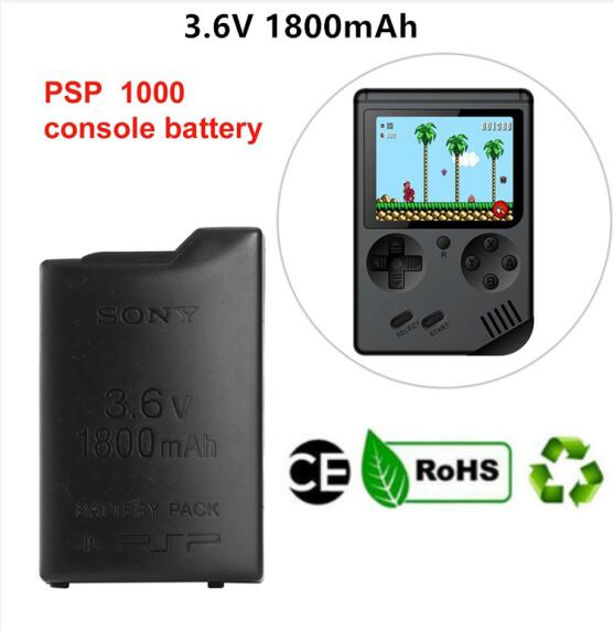 Battery-Pack Psp 1001 PSP-110 Sony 1000 1800mah OEM Authentic Original