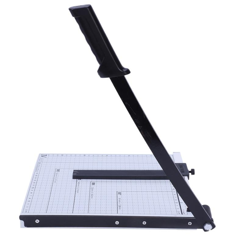 PAPER CUTTER METAL BASE TRIMMER Scrap Booking Guillotine Blade 12 X 10