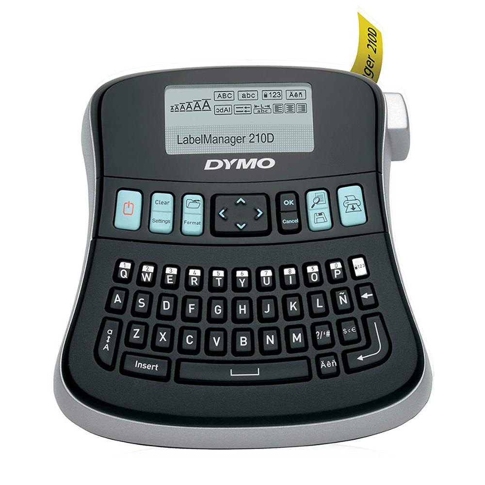 LM-210D Original Label Machine English Hand-held Portable Printer LM210D Stickers Label Maker 45013 40913 45018 43613 45010