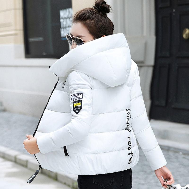 Permalink to 2020 New Winter Parkas Women Jacket Hooded Thick Warm Short Jacket Cotton Padded Parka Basic Coat Female Outerwear Plus Size 5XL