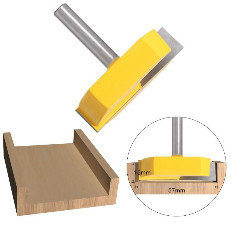 8mm Shank Woodworking Router Bit Background Cleaning Milling Cutter Slotting