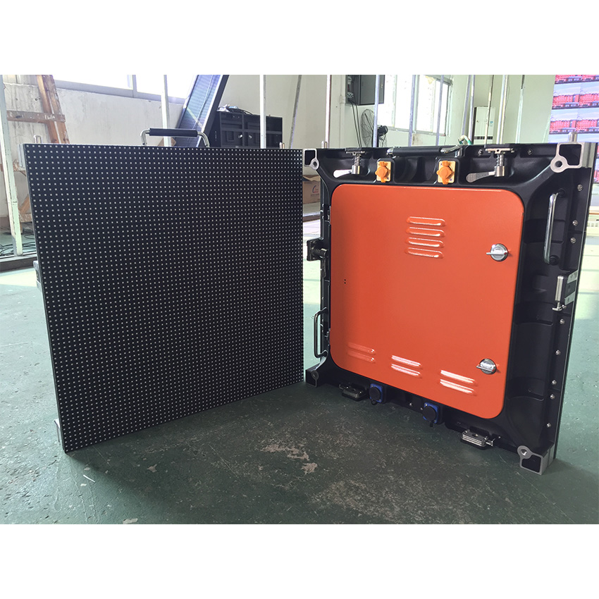 P8 LED Screen 512X512mm RGB SMD3535 Waterproof High Brightness Die Casting Aluminum Cabinet Outdoor Rental Large Display Screen Panel