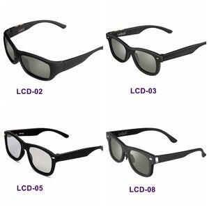 Image 2 - 2020オリジナルデザイン調光サングラス液晶偏光レンズ、電子透過率mannually調節可能なサングラスヴィンテージ