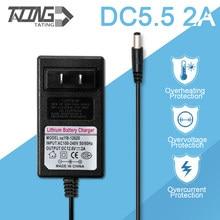 Battery Charger 21V 16.8V 12.6V 8.4V 2A Universal Power Adapter DC5.5*2.1mm Rechargeable Lithium Battery Charger 4.2V3A 25.2V 1A