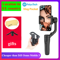 Feiyu Vlog Pocket Handheld Phone Gimbal Smartphone Stabilizer for iPhone 11/11 Pro/Samsung/Huawei Pk smooth 4 DJI Osmo mobile 3