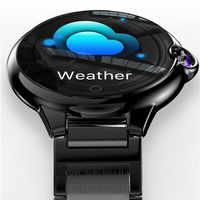 LIGE 2019, reloj inteligente para hombres y mujeres, monitor de ritmo cardíaco y oxígeno en la sangre resistente al agua, rastreador deportivo para hombres, smartwatch para IOS y Android