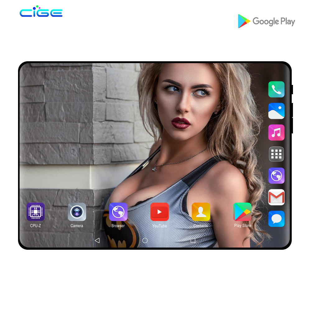 N9 10 Inch Tablets Android 8.0 4G Lte Dual SIM Card Phone Call Octa Core 6GB RAM 64GB ROM Google Play Tablet PC GPS FM 10.1