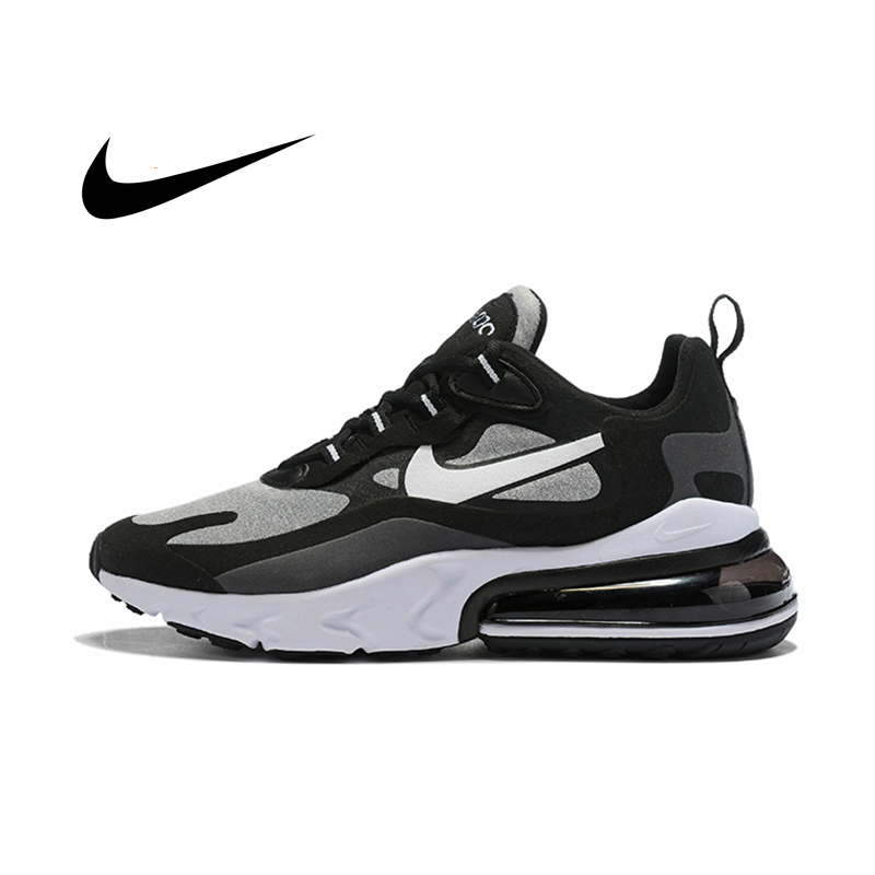 Nike Air Max 270 React New Arrival Men Running Shoes Air Cushion Outdoor Sports Sneakers Comfortable AO4971-001