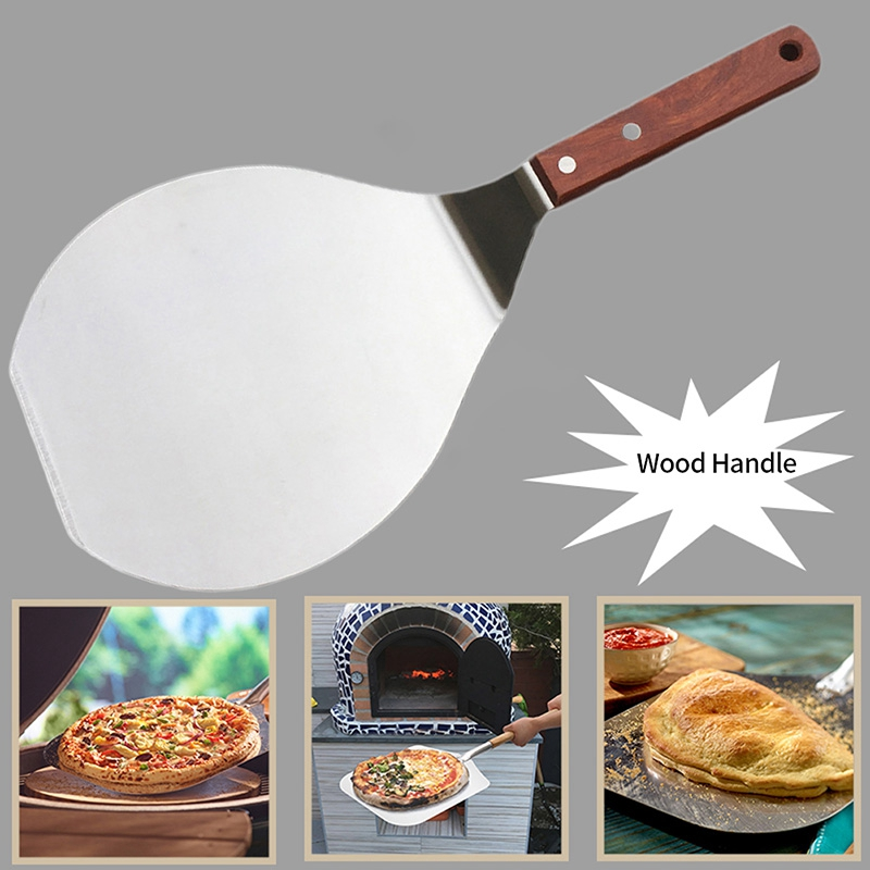 Non stick pastry stainless steel kitchen lifter round spatula