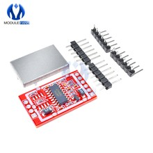 Capteur de pesage 24 bits à double canal, Conversion AD/D, 4.8-5.5V, ma, avec panneau de Module de blindage métallique, HX711