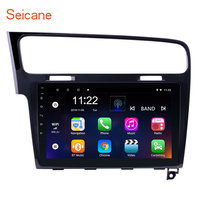 Seicane 10.1 inch Car Radio Head Unit Android 10.0 GPS Navi Player for 2013 2015 VW Volkswagen Golf 7 Steering Wheel Control