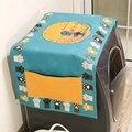Геометрический ромбик пылезащитный чехол для стиральной машины Чехлы для холодильника пыль с карманом хлопок пылезащитный чехол для домаш...