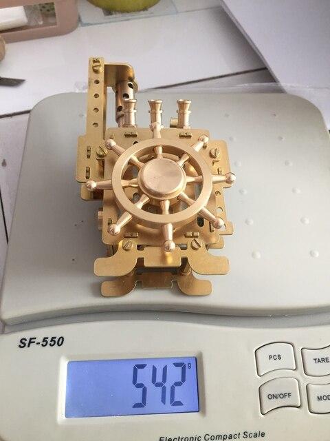 Steampunk Handmade Brass Kerosene Aart Collection Lighter With Music Box10