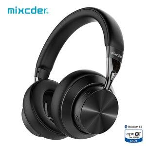 Mixcder E10 Upgraded aptX Low Latency Wireless Bluetooth Headphones 5.0 Aeronautical Metal Foldable Bass Bluetooth Headset(China)