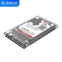 أوريكو 2139C3 نوع C القرص الصلب الضميمة UASP 2.5 بوصة شفاف USB3.1 القرص الصلب الضميمة دعم بروتوكول UASP
