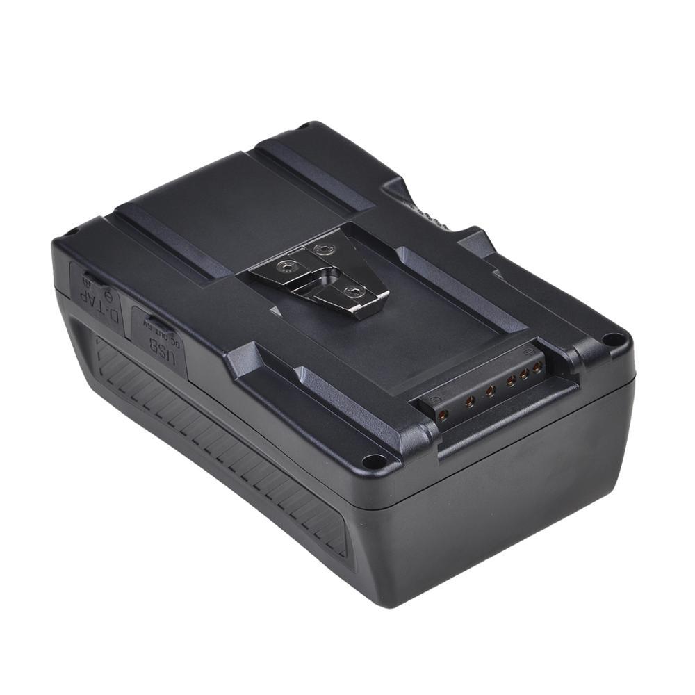 14.8v 154Wh V Mount Li-ion batterie Pack V serrure pour LED photographie lumière caméra vidéo caméscope pour Sony caméra BP batterie - 4