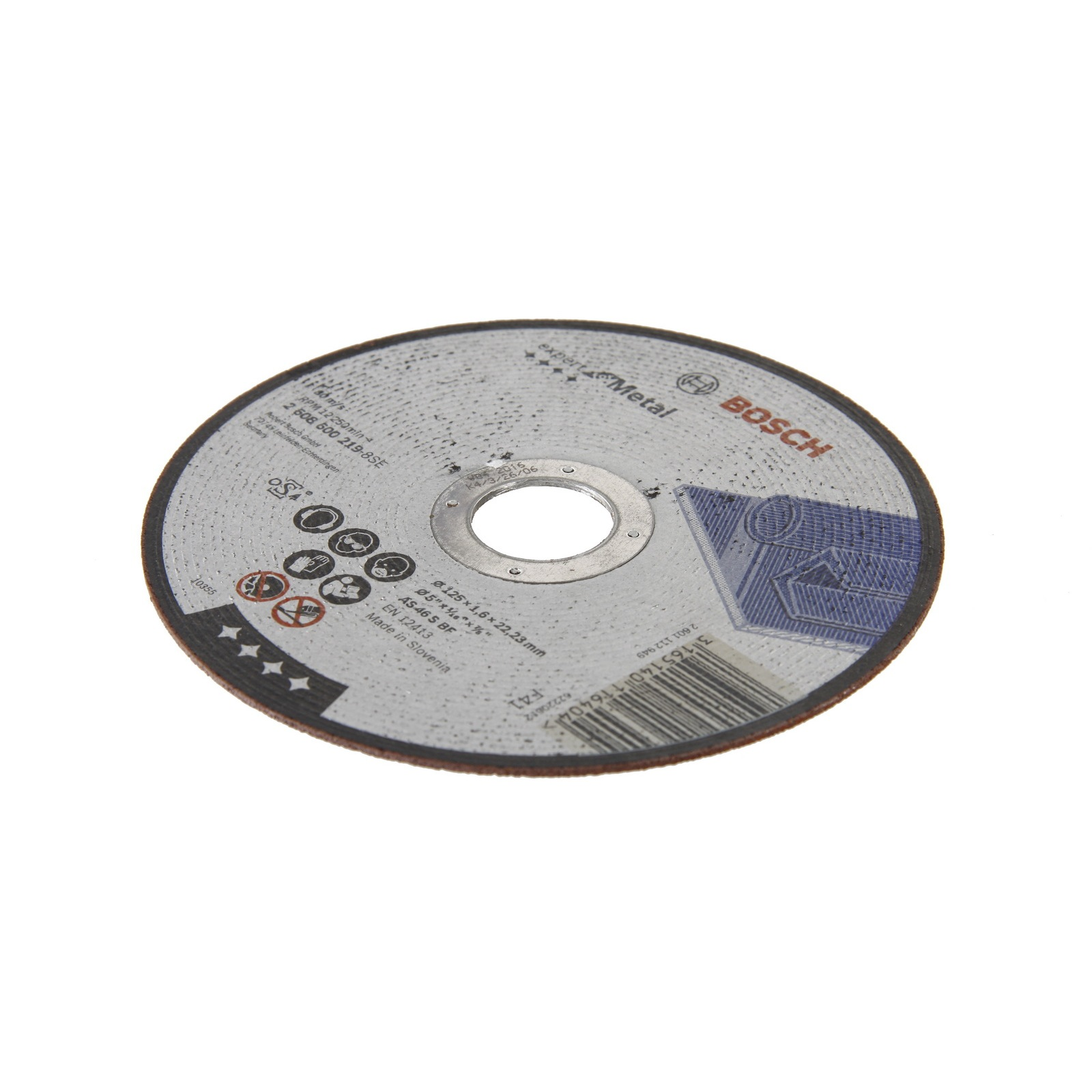 Circle Cutting BOSCH 125х1. 6x22 Expert For Metal (2.608.600.219)