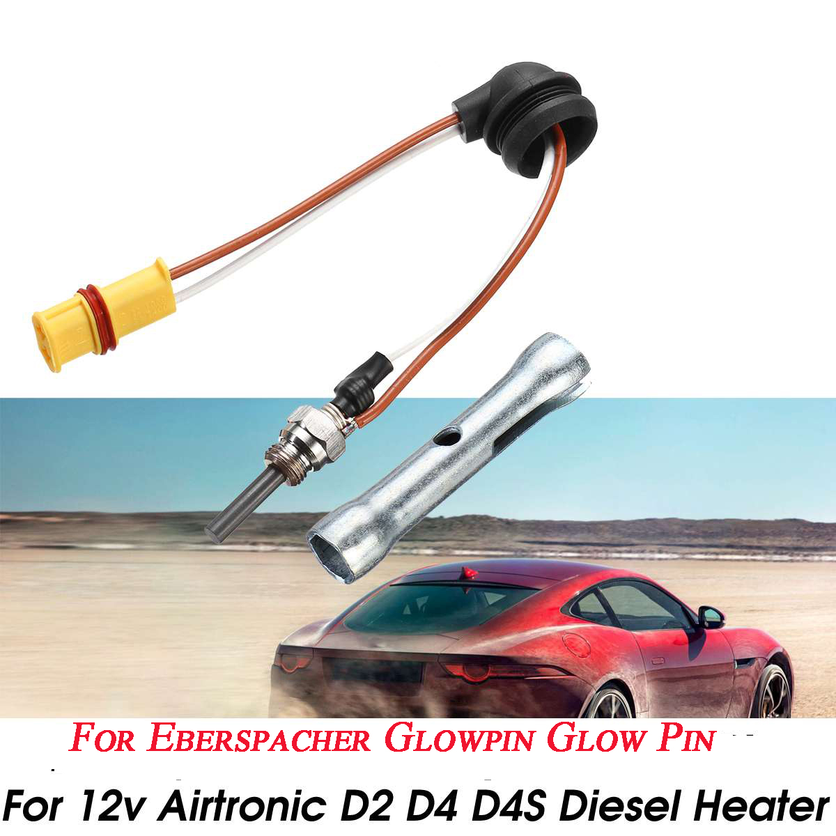 Air Diesel Parking Heater Ceramic Pin Glow Plug Replacement For Car Truck Boat