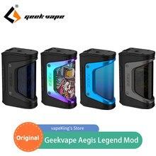 Original Geekvape Aegis Legend TC Box Mod 200W VW/ VPC/TC/TCR/BYPASS Mode Electronic Cigarette Vape Mod VS GEN3 DUAL