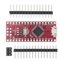 100 Uds Micro USB Nano con el gestor de arranque ATMEGA168P Nano 3,0 controlador compatible Nano v3.0 CH340 controlador USB 16Mhz para arduino