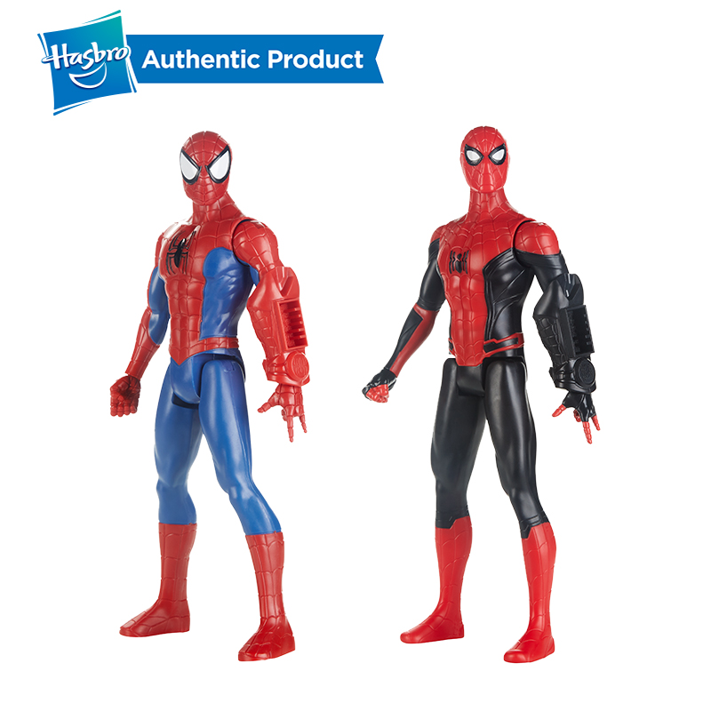 Hasbro Spider-man Far From Home 12 Inch Titan Hero Series With Titan Power Pack FX Arm Port Spider Man Suit For Girls And Boys