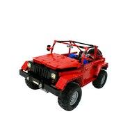 Technic Car RC Toys MOC 0015 Jeeps Wrangler Rubicon Car Assembly Car Model Kids Christmas Toys Building Blocks