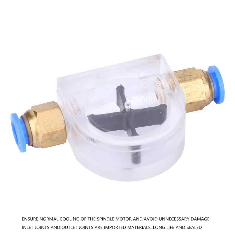 Débitmètre de débitmètre pour Machine à graver refroidie à l'eau, pour le moteur de la broche principale, refroidissement de la voie d'eau