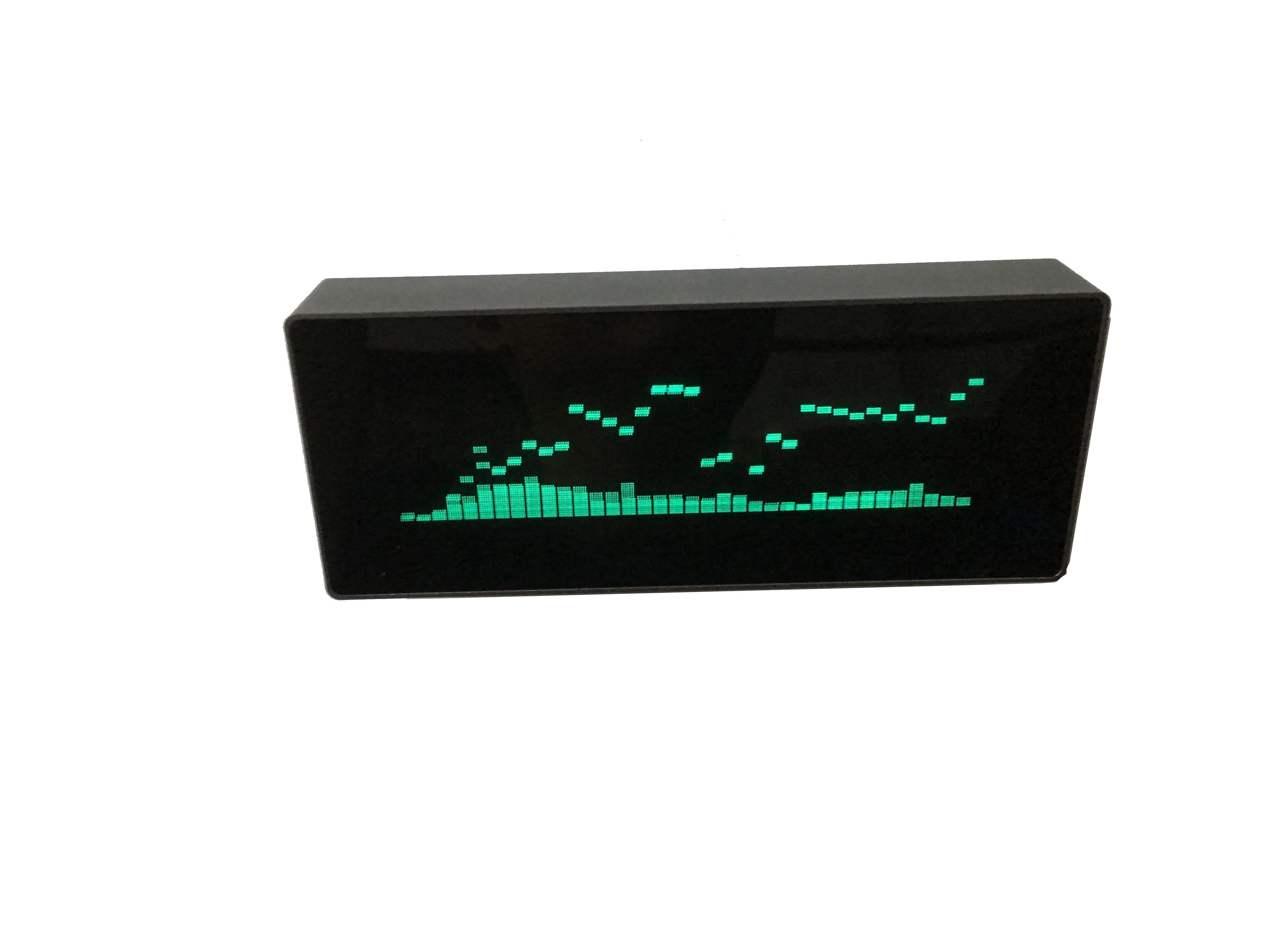 VFD Music Spectrum Indicator Clock Display VU Meter Audio Level Indicator