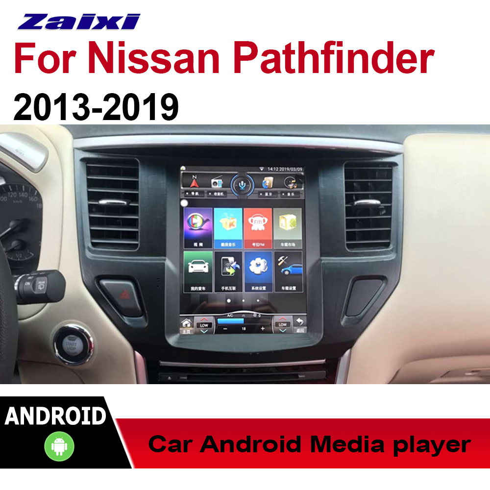 Android Car Multimedia player 2 Din WIFI GPS Navigation Auto radio For Nissan Pathfinder r52 2013~2019 touch screen Bluetooth image