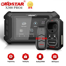OBDSTAR X300 Pro4 Pro 4 Key Master 5 Auto Key Programmer IMMO Version for Locksmith with Optional CAN FD Adapter