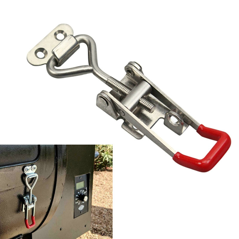 1Pcs Universal Metal Toggle Clamp Horizontal Clamp Quick Release Latch GH-4002 Latch For Hand Tool