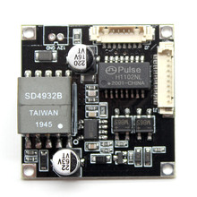 Вход 48 В 38% 2A38 мм видеонаблюдение ip камера poe модуль печатная плата плата выход DC12V питание для ip камеры