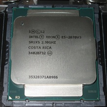Intel E5 2670 V3 2.3GHz 30MB 12Core 120W Socket LGA 2011-3 SR1XS E5-2670 V3 processore cpu