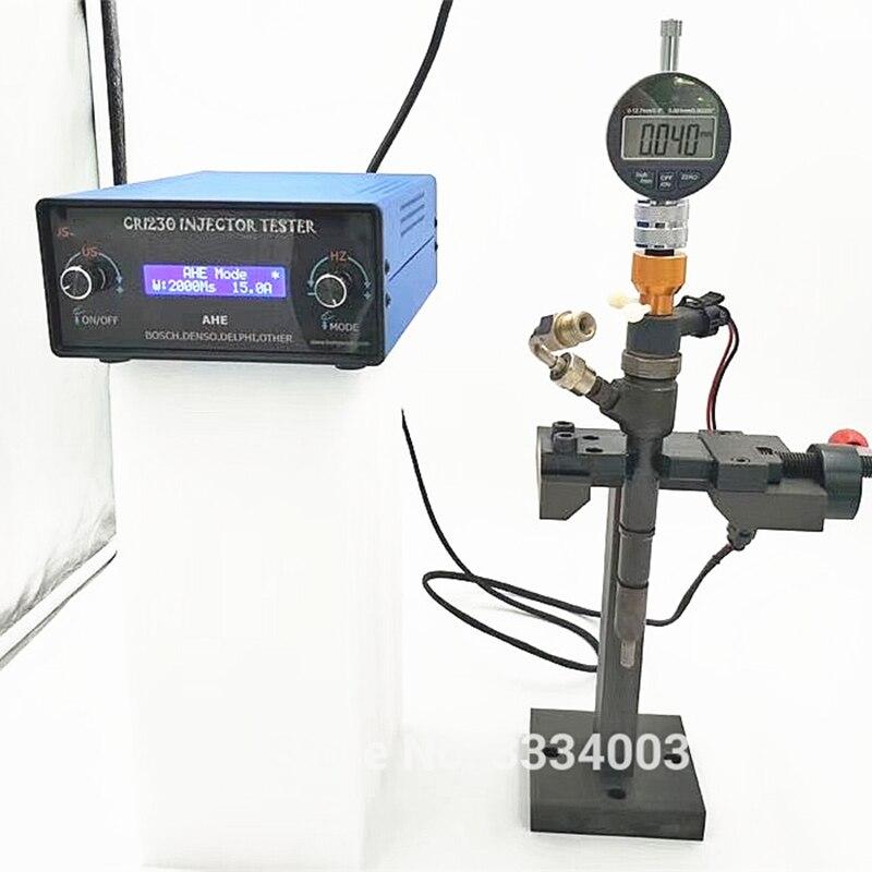 Для CAT BOSCH DENSO DELPHI дизель common rail инжектор тестер с динамической AHE тестовая функция AM0-CRI220 CRI230