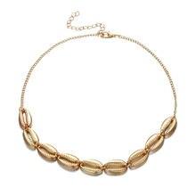Новинка 2021 ожерелье из ракушек Женское Ожерелье
