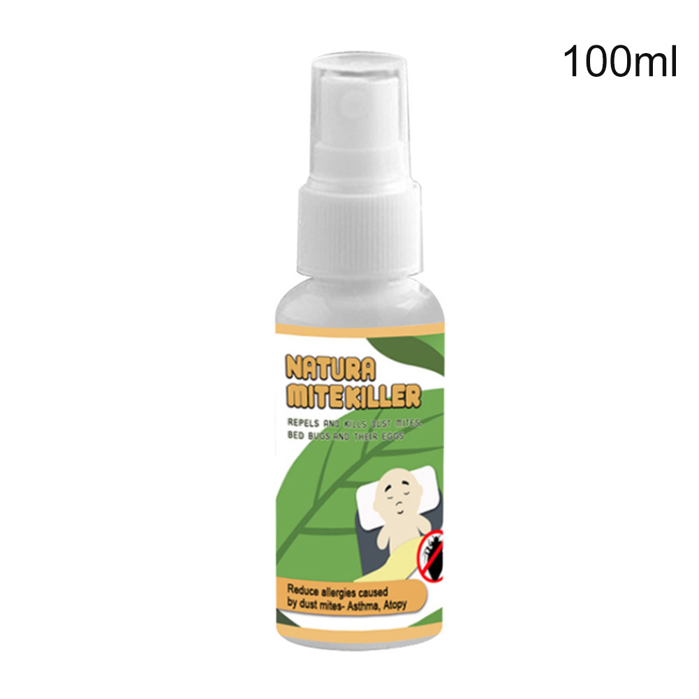 6pcs Package Or 30ml, 50ml, 100ml Bottles Mite Killer Natural Herbal Bed Bugs Removal Home Use Bedroom Pillows
